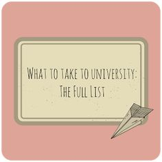 When you pack for university, you might not immediately think of the more unusual items, like party costumes! Fortunately, Bethan Lucy has put together this great list from a student perspective, to make sure you enjoy your first term at college or uni!