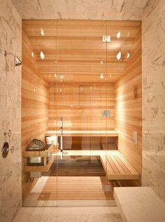 Small Space Shower And Sauna Steam ShowersBathroom WindowsSaunasBathroom IdeasSauna