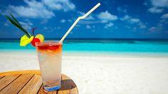 Sunny, happy with the music, no money. I'm thinking you're on holiday. Slipping yellow lemonade.  Alexandra Stan