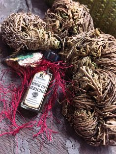 ROSE OF JERICHO Herbal Alchemy Oil - Spell Oil, Anointing Ritual Oil, Meditation Oil - Witchcraft, Magick, Hoodoo