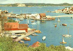 Telemark fylke Kragerø fra Indre havn Utg Aune forlag brukt 1963