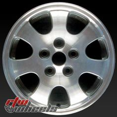 "15"" Mazda 626 oem wheels for sale 1998-2002 Machined Charcoal rims 64803 - https://www.rtwwheels.com/store/shop/15-mazda-626-oem-wheels-sale-machined-charcoal-stock-rims-64803/"