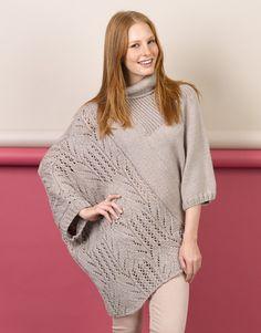 Book Woman Basics 11 Autumn / Winter   33: Woman Poncho   Grey