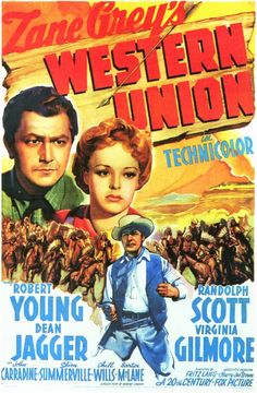 pulp western posters | Western Union Movie Posters From Movie Poster Shop