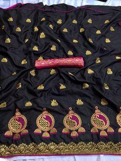 sana silk saree, black saree, Saree for women, saree blouse, Designer saree, indian saree, readymade blouse, sari,    #women #etsy #clothing #wedding#saree#sari