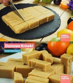 Domowe krówki - Smak dzieciństwa Sweet Recipes, Cake Recipes, Dessert Recipes, Xmas Food, Homemade Cakes, Snacks, No Bake Desserts, My Favorite Food, Food Inspiration