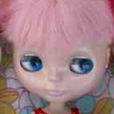 Blythe pink candy floss hair cute
