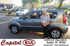 Congratulations to Pamela Schulze on your #Kia #Soul purchase from Reid Johnson at Capitol Kia! #NewCar