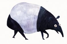 Tapir is a lovechild of a pig and a panda.
