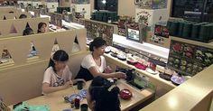 Conveyor Belt Sushi, Japan ~ A dining concept that lets you pick from a wide range of one of Japan's best-known foods...