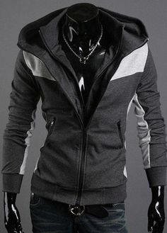 Cheap coat autumn, Buy Quality clothing shirt directly from China coat Suppliers: 2013 new arrived free shopping New arrival Casual trend styling Korea Men's Slim Hoodie Jacket Coat Sweatshirt 4 colorsU Fashion In, Korea Fashion, Mens Fashion, Fashion Coat, Fasion, Winter Fashion, Hoodie Sweatshirts, Stylish Men, Men Casual