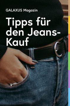 Eine gut sitzende Jeans ist quasi ein Sechser im Mode-Lotto. Nur selten überzeugt ihre Passform zu 100 Prozent. Einige Tipps, worauf du beim Kauf einer Denim-Hose achten solltest, verraten wir dir hier. Ladies Fashion, Womens Fashion, Clothing Hacks, Lifestyle, Jeans, Clothes, Fashion Styles, White Blouse Outfit, Outfit Ideas