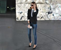 Mireia from My Daily Style in a McQ shirt