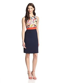 Eva Franco Women's Aria Dress (Birds & Bees)