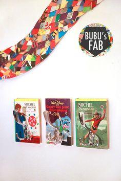 HOOK BOOK Porte-manteau vintage & upcycled Bubu's Fab