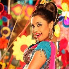 "Bollywood makeup inspiration...Rani Mukherji in ""Aaiya"""