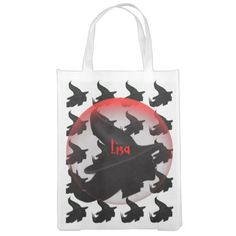 Witch Grocery Bag