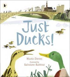 Do you know a little person who just LOVES to feed the ducks? Then this one is a MUST read. Just Ducks by Nicola Davies. Review & online price comparison