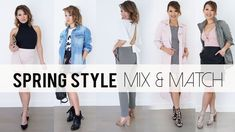 Spring Mix & Match Outfit Ideas | Lookbook