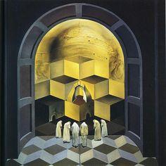 Dali, Salvador (1904-1989) - 1956 Skull of Zurbaran.