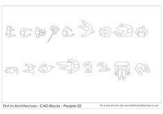FIA People CAD Blocks 02