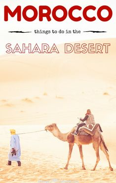 The desert is our favourite region of Morocco and to help you along the way, here are our some of our favourite things to do in the Sahara Desert, Morocco.