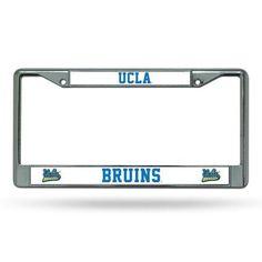 Chrome License Plate Frame - UcLA Bruins Ucla Bruins Lpfrcucla, Multicolor