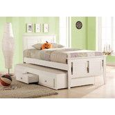 Found it at Wayfair Australia - Lilly Captains Single or King Single Bed with Trundle Trundle Bed With Storage, Bed With Underbed, Under Bed Storage, Trundle Beds, Princess Bedrooms, Big Girl Bedrooms, Girls Bedroom, Bunk Bed Plans, Murphy Bed Plans