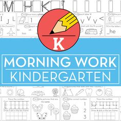 Kindergarten Morning