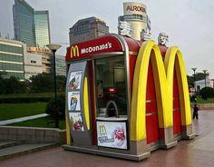 World's smallest McDonald's (Shanghai)