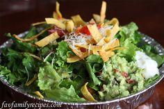 Cafe Rio Sweet Pork Salad. This recipe is spot-on.