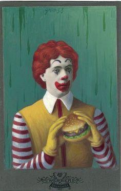 Ronald Mcdonald, Fictional Characters, Art, Art Background, Kunst, Performing Arts, Fantasy Characters, Art Education Resources, Artworks