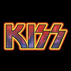 Rock Band Posters, Rock Poster, Kizz Band, Kiss Album Covers, Kiss World, Kiss Logo, Rock Room, Hair Metal Bands, Kiss Art