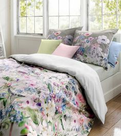 Neues Dessin für den Sommer! Exklusive Bettwäsche Bed Art von fleuresse - schnell bestellen bei N&K Bielefelder Wäsche.