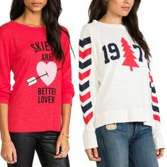 Rank & Style Top Ten Lists | Wildfox Couture #Ski #Sweaters #rankandstyle