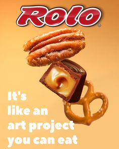 "When you put ""ROLO®"" and ""pretzel"" in the same sentence, ""delight"" isn't far behind. Get the recipe for these sweet and salty treats. Rolo Pretzels, Pretzel Treats, Snack Hacks, Homemade Candies, Fun Activities For Kids, Sweet And Salty, Recipe Using, Delicious Desserts, Caramels"
