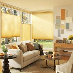 Blinds that adjust at top and bottom... now that's an idea.