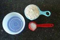 Havermout & kokosolie masker