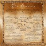 Book of Shadows, Wheel of the Year, Page 2 by Brightstone