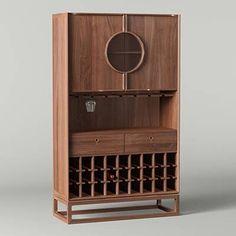 Sideboard Cabinet, Cabinet Furniture, Living Furniture, Modern Furniture, Furniture Design, Wood Furniture, Chinese Furniture, Oriental Furniture, Mini Bars