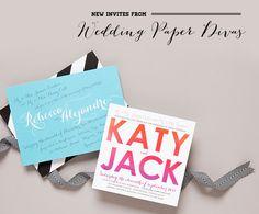 Wedding Invitations from Wedding Paper Divas