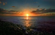 Sunset Anse Ceron Martinique fwi