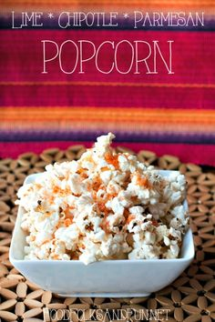 Lime, Chipotle & Parmesan Popcorn for better snacking. This is a refreshing and spicy popcorn combination. #SkinnyGirlSnacks #CollectiveBias #shop @orvillepopcorn