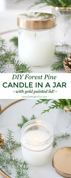 DIY Forest Pine Cand
