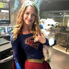 Glee — Beautiful #SuperGirl  .  .  .  .  #MelissaBenoist...