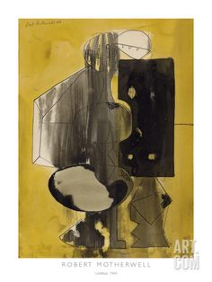 Robert Motherwell - Giclée 'Untitled, 1944