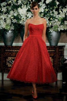 vestidos rojos años50 - Buscar con Google