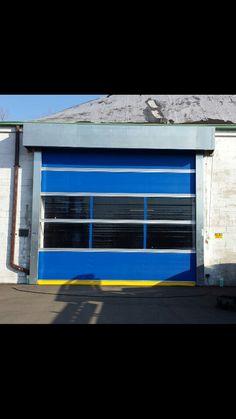 Hormann Flexon @ Fanton Logistics · Commercial Garage Doors & Dock caps | Commercial Garage Door | Pinterest | Commercial garage ...