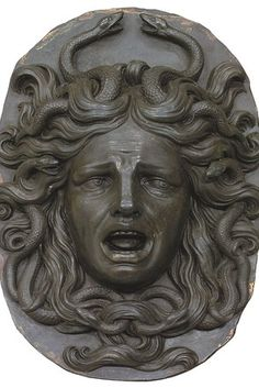 medusa bronze - Google Search Medusa Kunst, Medusa Art, Medusa Gorgon, Project Medusa, Female Monster, Ceramic Mask, Turn To Stone, Snake Art, Renaissance Artists