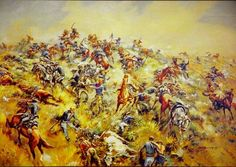 June 25, 1876 Lt Colonel George Custer and the 7th Cavalry are wiped out by Sioux and Cheyenne Indians at the Battle of Little Big Horn